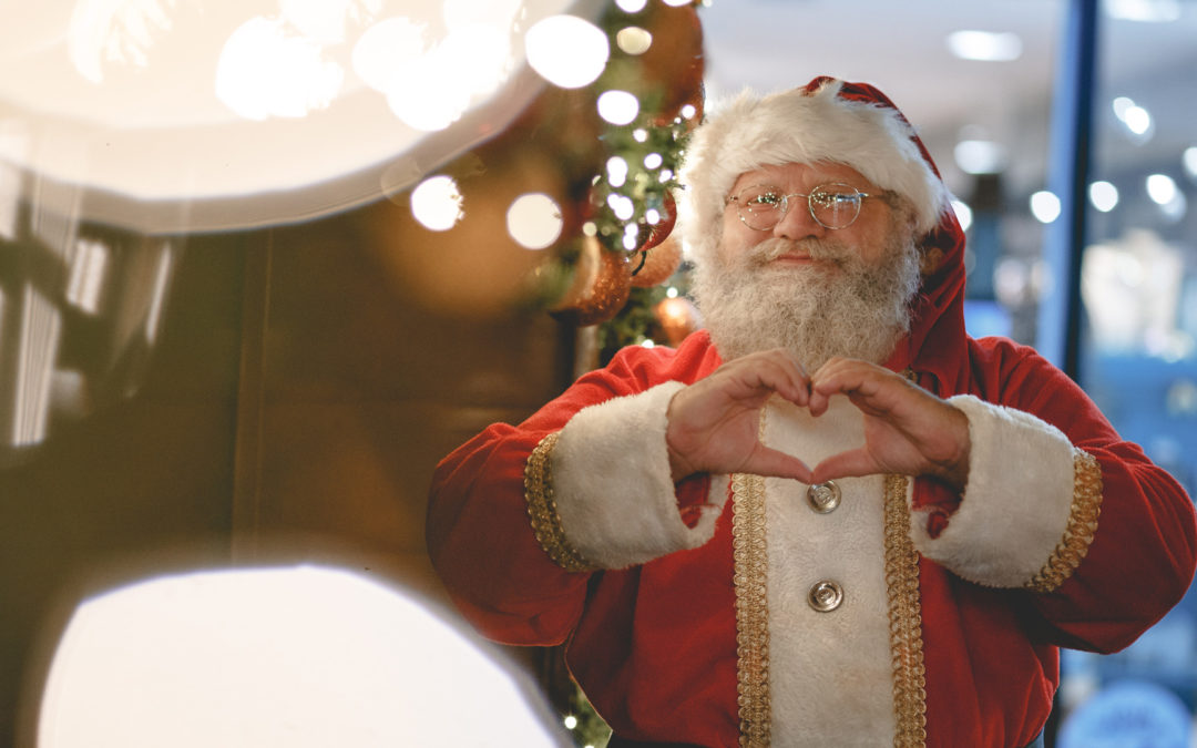 A Santa with a Cause
